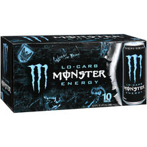 Lo Carb Monster Energy Energy Taurine Plus Ginseng Energy Supplement
