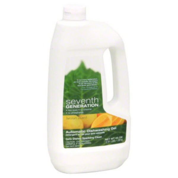 Seventh Generation Lemon Scent Dishwasher Detergent Gel