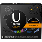 U by Kotex Click Compact Tampons Super Plus Absorbency Unscented