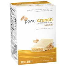 PowerCrunch Original Peanut Butter Creme Protein Energy Bars