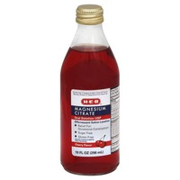 H-E-B Magnesium Citrate Oral Solution Effervescent Saline Laxative Cherry Flavor