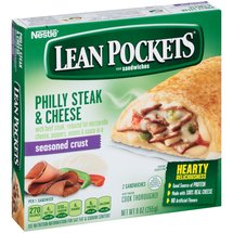 Lean Pockets Philly Steak & Cheese Sandwiches