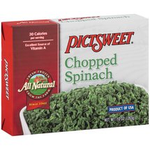 Pictsweet Farms Recipe Helper Chopped Spinach