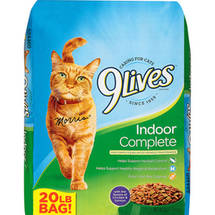 9Lives Indoor Complete Dry Cat Food