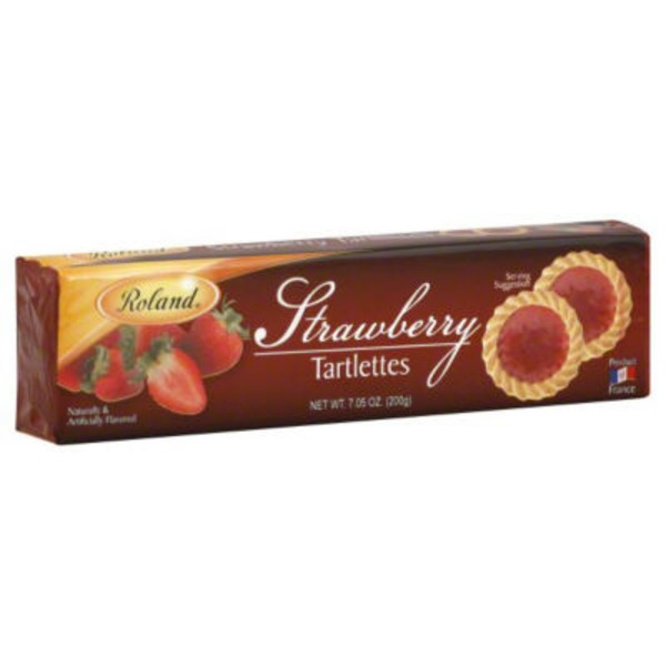Roland Strawberry Tartlettes