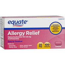 Equate Allergy Tablets