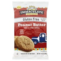 Immaculate Baking Co Gluten Free Peanut Butter Cookie