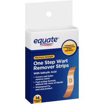 Equate Maximum Strength One Step Wart Remover Strips