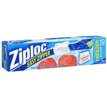 Ziploc Holds 1 Gallon Easy Zipper Heavy Duty Freezer Bags