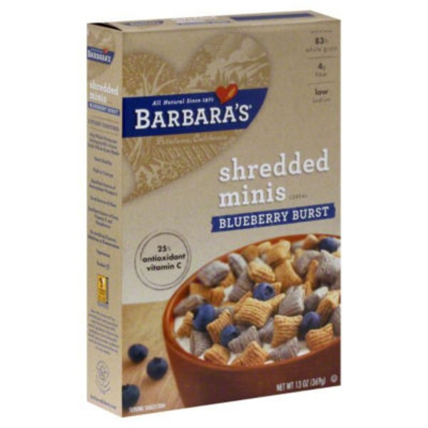 Morning Oat Crunch Mini Blueberry Burst Cereal