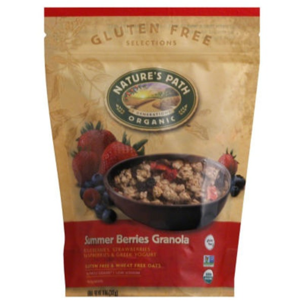 Nature's Path Organic Gluten Free Summer Berries Granola