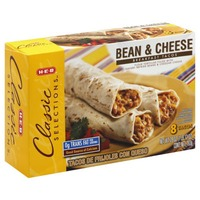 H-E-B Bean And Cheese Breakfast Tacos