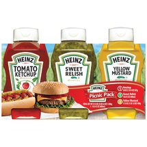 Heinz Picnic Pack Condiment Variety Pack54 oz