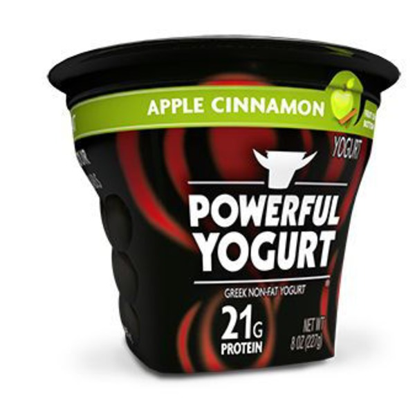 Powerful Yogurt Apple Cinnamon Yogurt