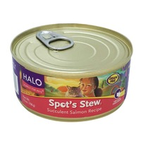 Halo Spot's Stew For Cats Wild Salmon Recipe