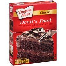 Duncan Hines Classic Devil??????s Food Cake Mix
