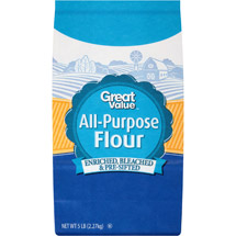 Great Value All Purpose Bleached Enriched Pre-Sifted Flour
