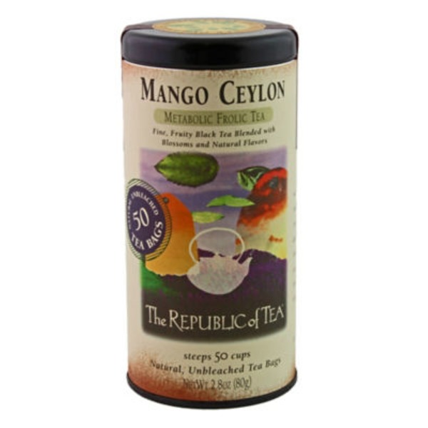 The Republic of Tea Mango Ceylon