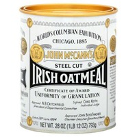 John Mc.Cann's Steel Cut Irish Oatmeal