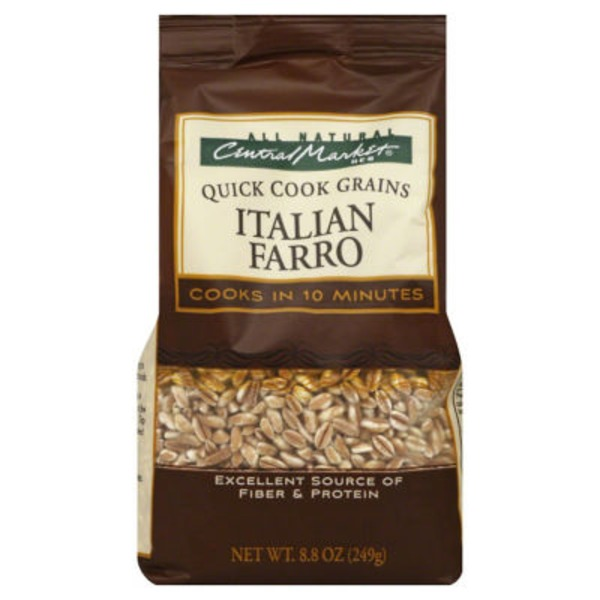 Central Market Quick Cook Grains Italian Farro