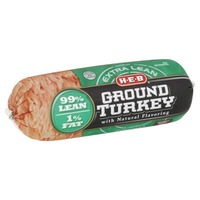 H-E-B 99/1 Extra Lean Ground Turkey