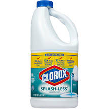 Clorox Splash-Less Clean Linen Concentrated Bleach