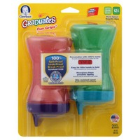 Gerber Graduates Fun Grips Spill-Proof Cups