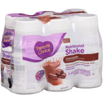 Parent's Choice Chocolate Nutritional Shake