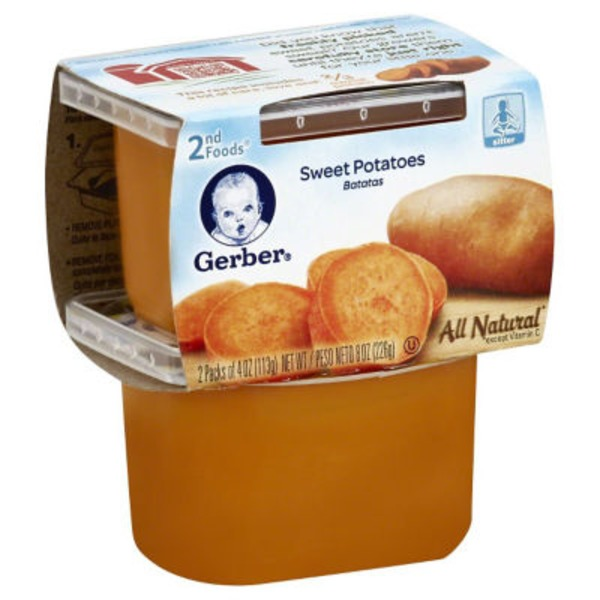 Gerber 2 Nd Foods Sweet Potatoes Baby Food
