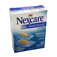 Nexcare Waterproof Assorted Bandages