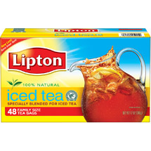 Lipton 100% Natural Tea Bags Specially Blended For Iced Tea