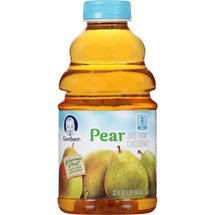 Gerber Juices Pear From Concentrate