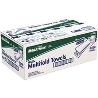 Marathon White Multifold Towels