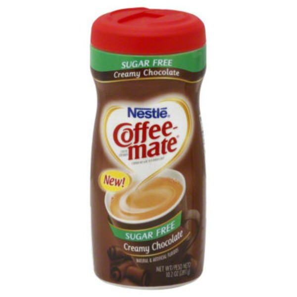 Nestlé Coffee Mate Creamy Chocolate Sugar Free Powder Coffee Creamer