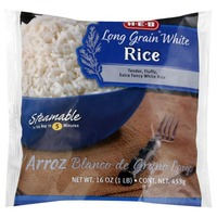 H-E-B Steamable Long Grain White Rice