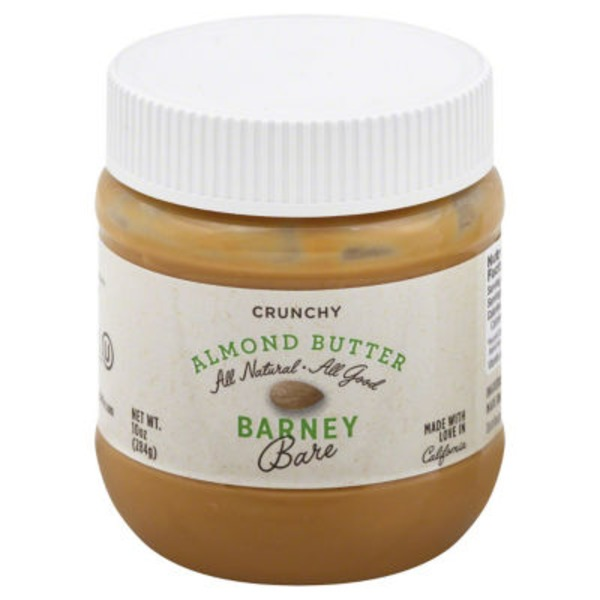Barney Butter Bare Almond Butter, Crunchy