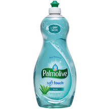 Ultra Palmolive Soft Touch Dish Liquid With Aloe