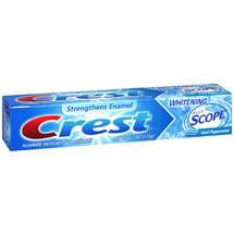 Crest Complete Whitening + Scope Peppermint Flavor Toothpaste