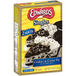Edwards Singles Cookies & Creme Pie