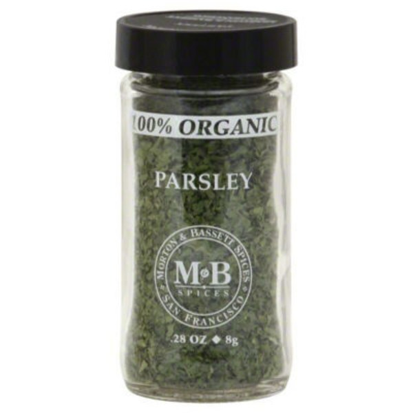 Morton & Bassett Spices Organic Parsley