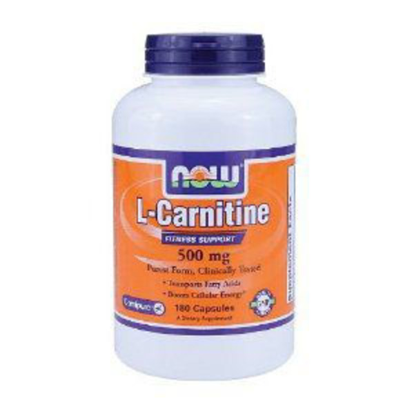 Now L Carnitine 500 mg Fitness Support Capsules