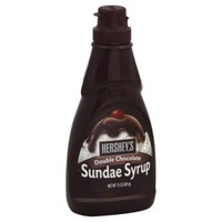 Hershey Sundae Dream Double Chocolate Syrup