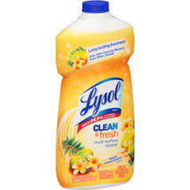 Lysol Clean & Fresh Hawaii Sunset Essence Scent Multi-Surface Cleaner