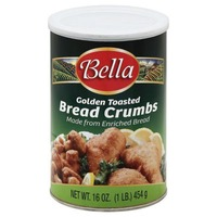 Bellas Golden Toasted Bread Crumbs