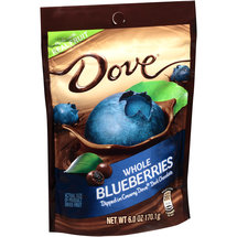 Dove Whole Blueberries Dipped in Creamy Dark Chocolate Dried Fruit