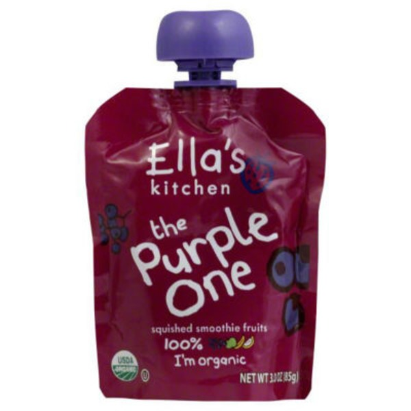 Ella's Kitchen Smoothie Fruits Squished The Purple One Over 6 Months