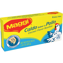 Maggi Chicken Flavor Bouillon Tablets