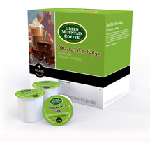 Green Mountain Coffee Mocha Nut Fudge Light Roast K-Cups Coffee