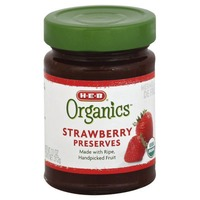 H-E-B Organics Strawberry Preserves