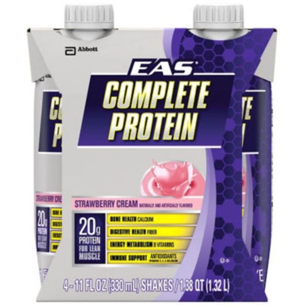 EAS Complete Protein Strawberry Cream Nutrition Shake